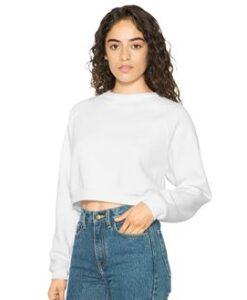 Women's flex fleece crop pullover