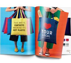 tasker og net til indkøb